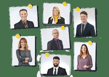 Das Contact-Center-Team der Schaffhauser Kantonalbank
