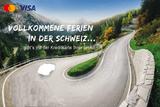 Teaserbild Kreditkarten Kampagne Vollkommene Ferien in der Schweiz